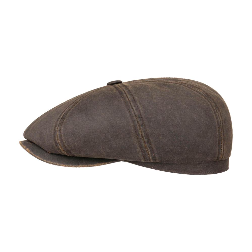 Stetson - Hatteras Old Cotton Newsboy - Sixpence/Flat Cap - Brown