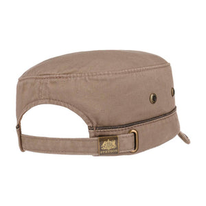 Stetson - Katonah Army Cap - Adjustable - Light Brown