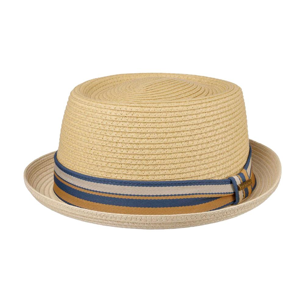Stetson - Licano Toyo Pork Pie - Straw Hat - Nature