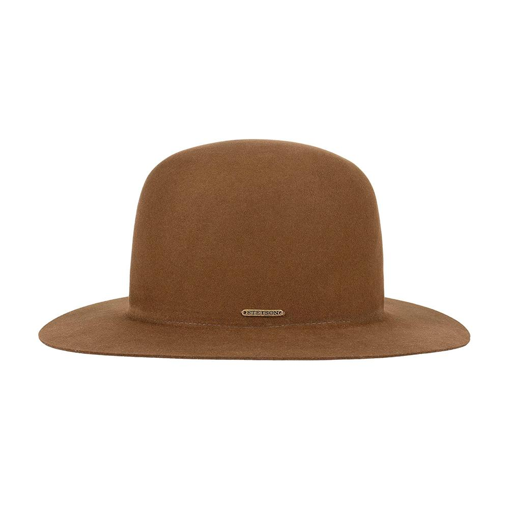 Stetson - Open Crown Fur Blend - Felt Hat - Brown
