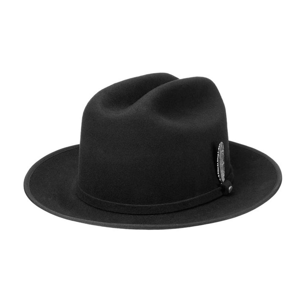 Stetson - Open Road Wool Felt Hat - Fedora - Black