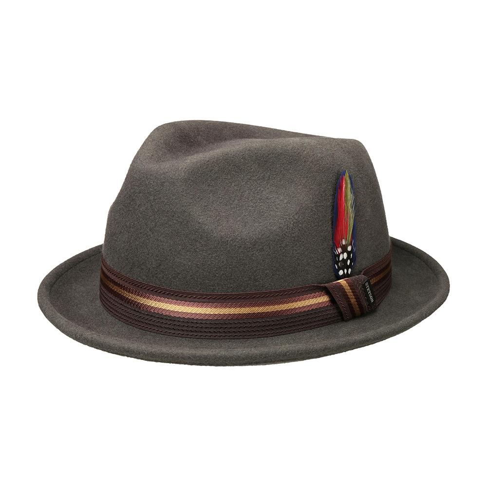 Stetson - Player Woolfelt - Felt Hat - Grey