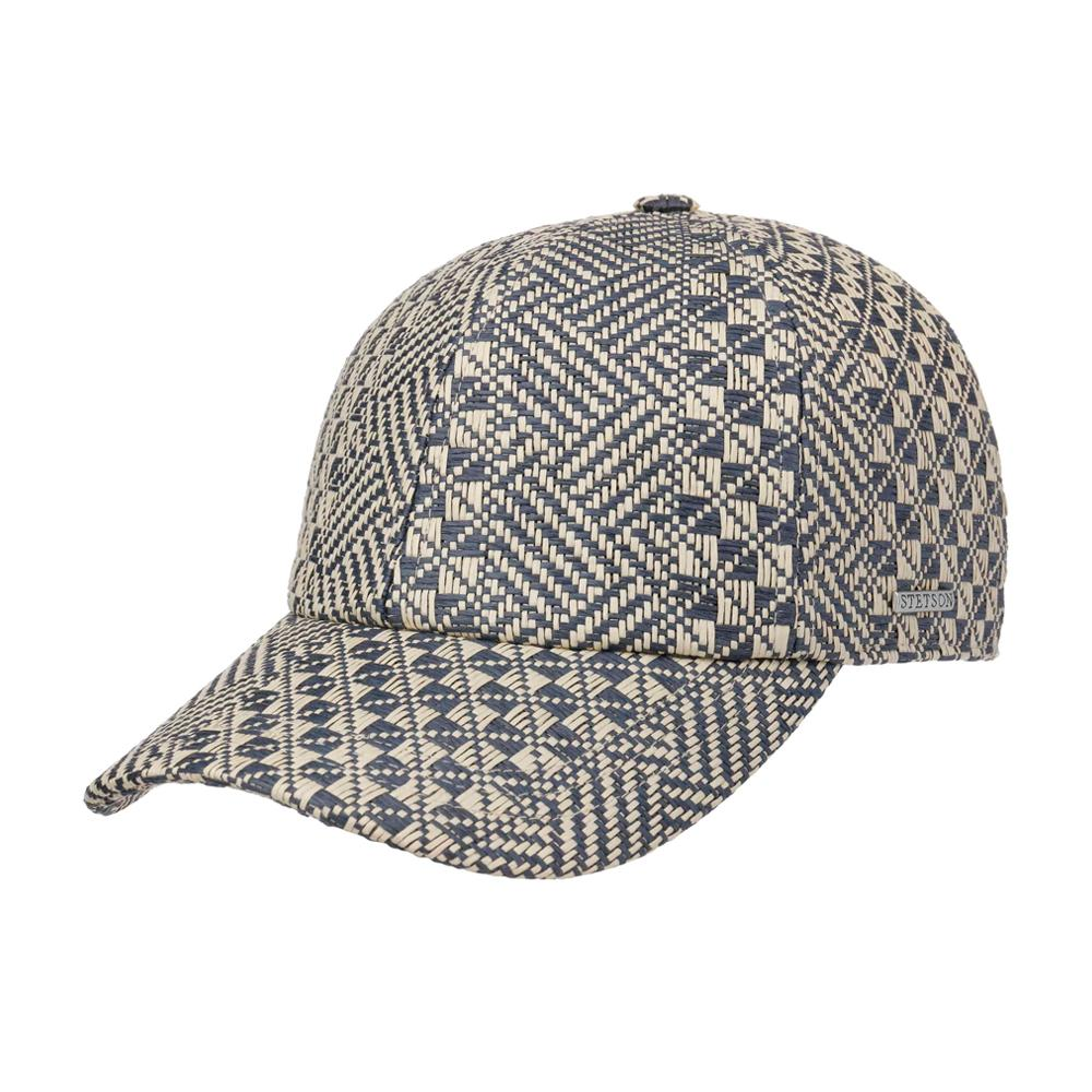Stetson - Portigo Twotone Toyo Cap - Adjustable - Nature/Blue