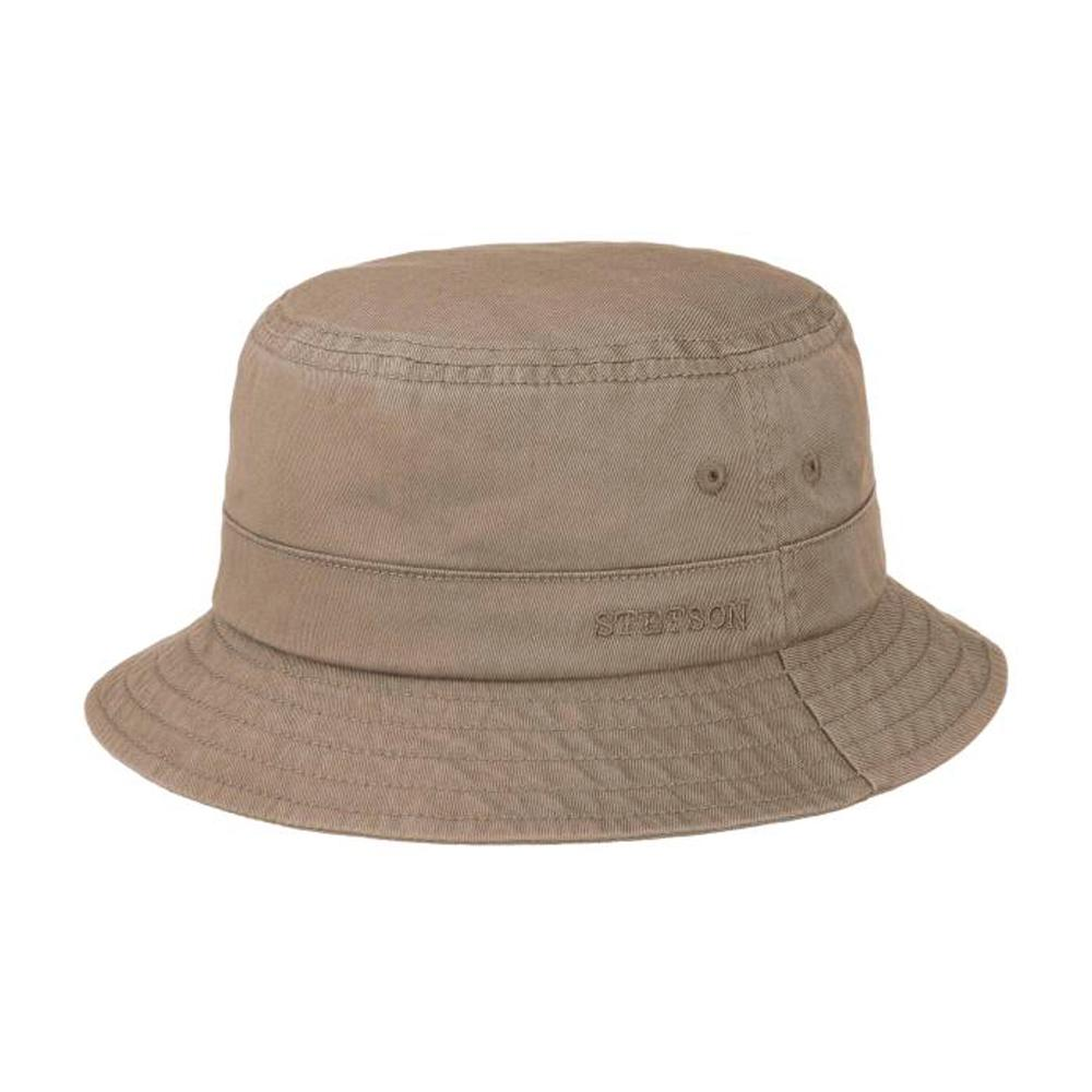 Stetson - Protection Cotton Twill - Bucket Hat - Dark Grey