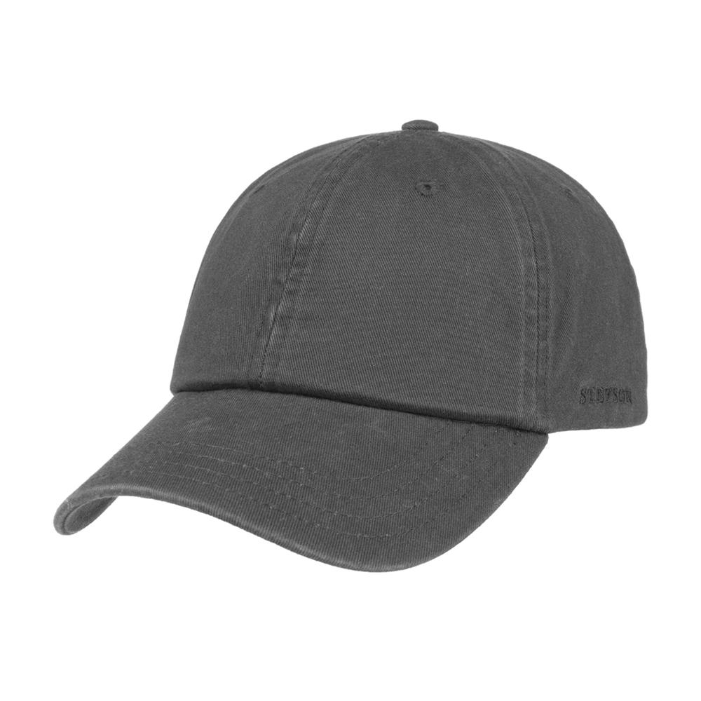 Stetson - Rector Baseball Cap - Adjustable - Anthracite Grey
