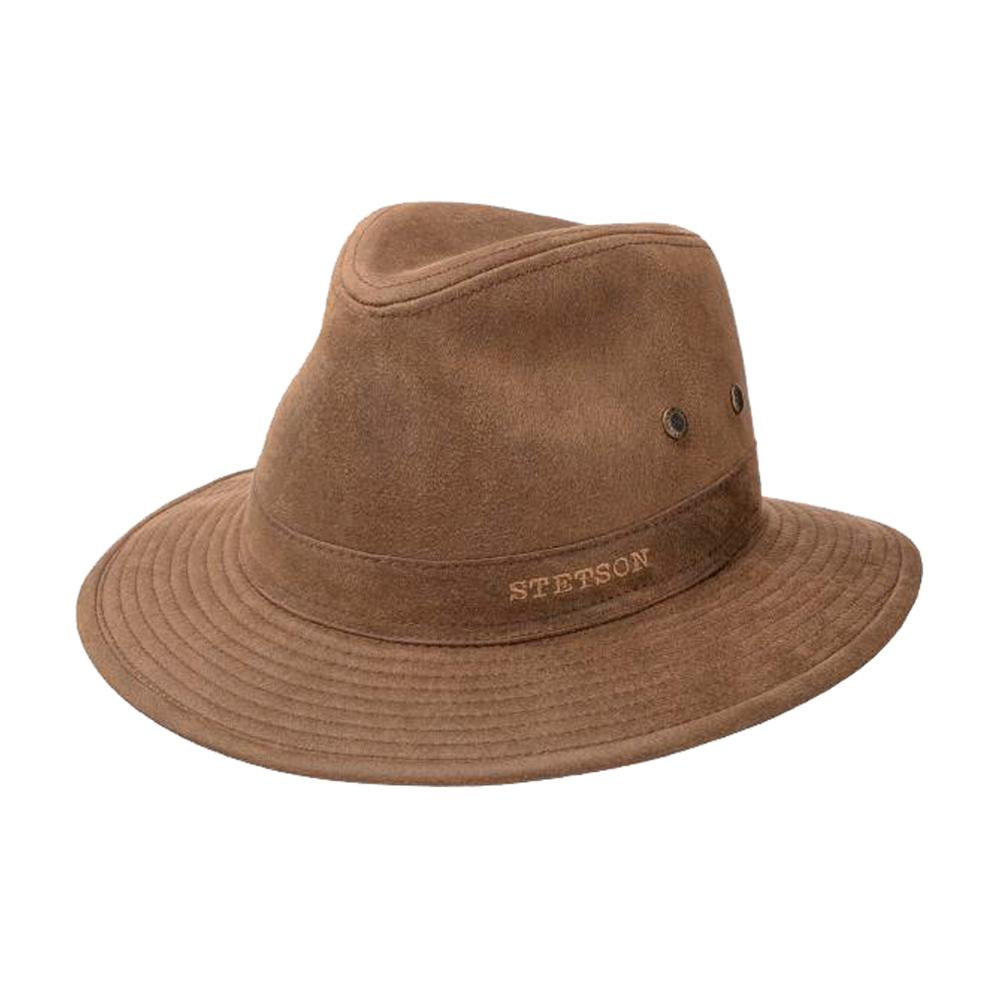Stetson - Stampton Traveller Hat - Fedora - Brown
