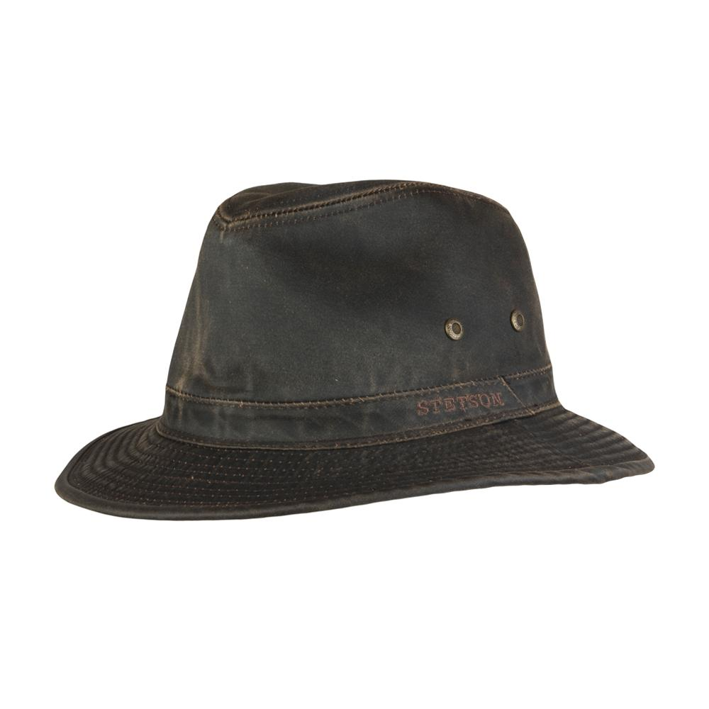 Stetson - Traveller CO/PE - Fedora - Brown