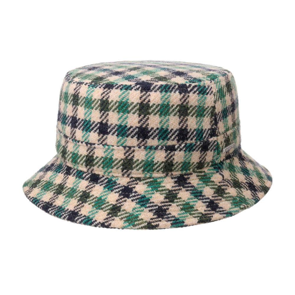Stetson - Vichy Check Clouth Hat - Bucket Hat - Green