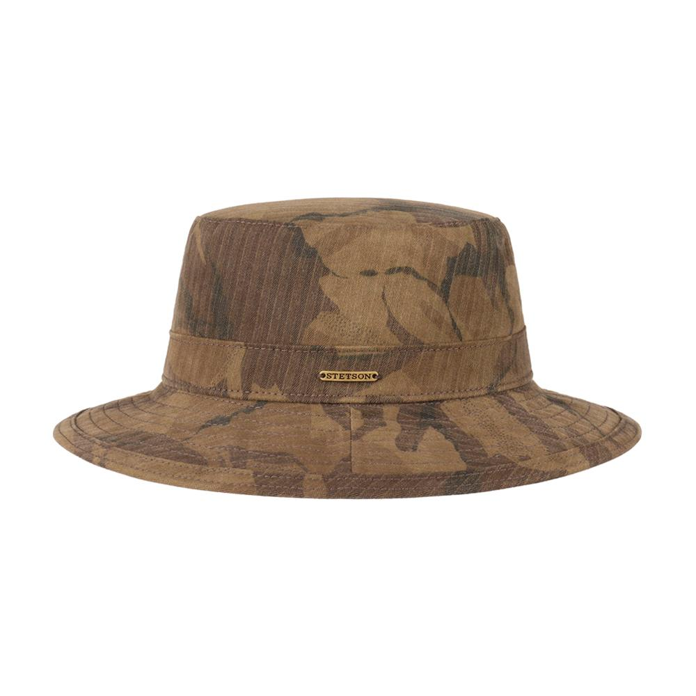 Stetson - Waxed Cotton - Bucket Hat - Camo
