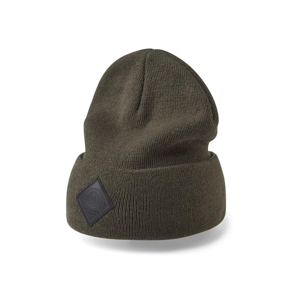 Upfront - Official 2 - Fold Up Beanie - Olive/Black