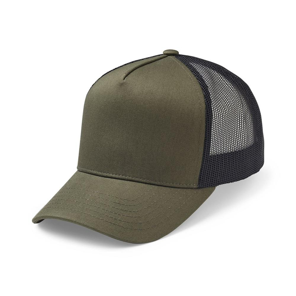 Upfront - Reed - Trucker/Snapback - Army/Black