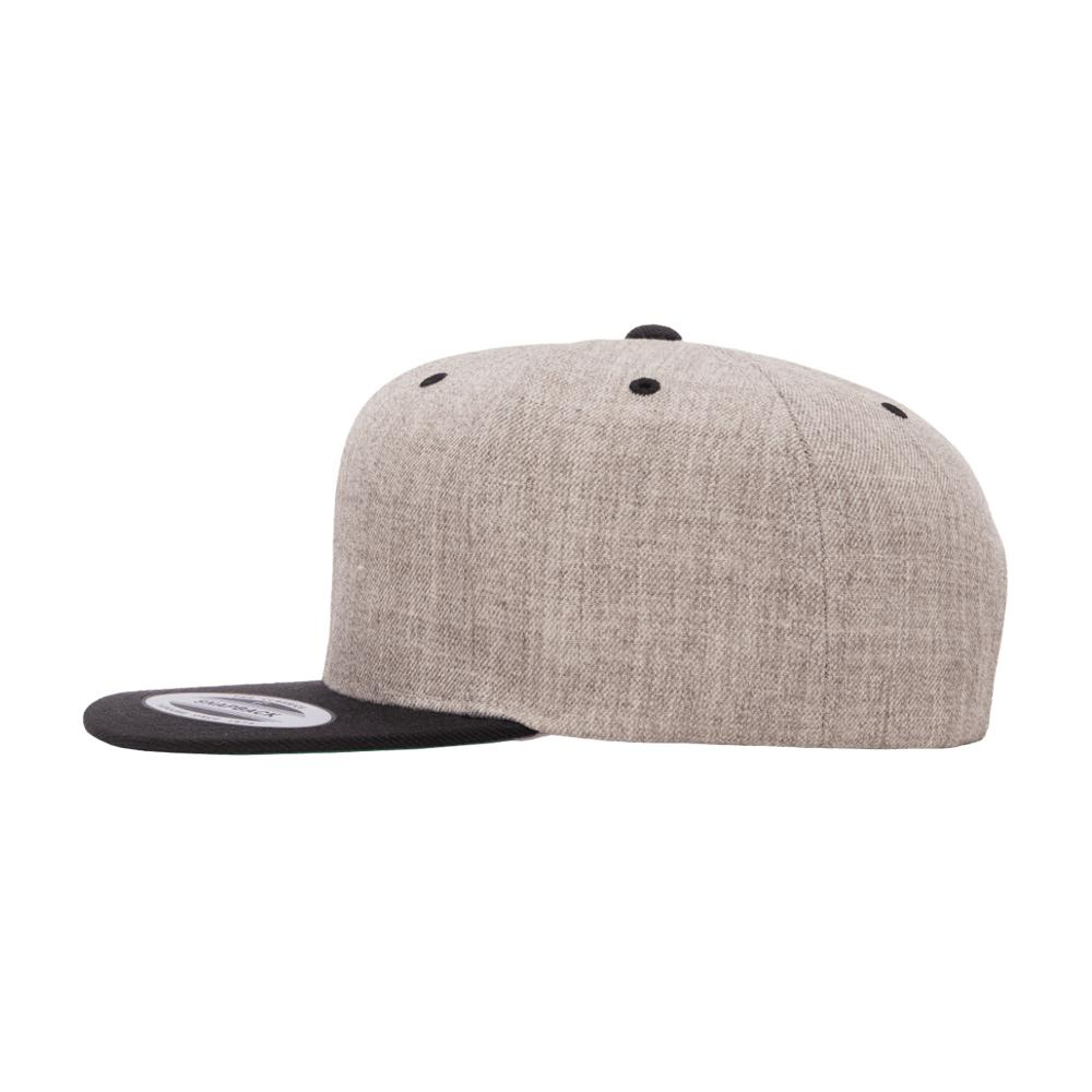 Yupoong - Classic - Snapback - Heather Grey/Black