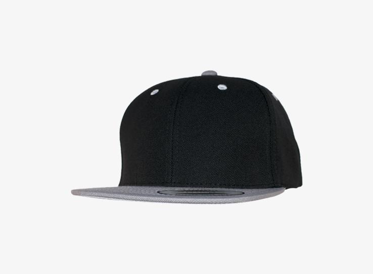 Yupoong - Youth - Snapback - Black/Silver