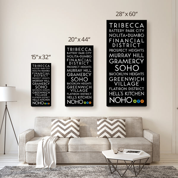 New York Living Canvas Wall Art (Free Shipping)
