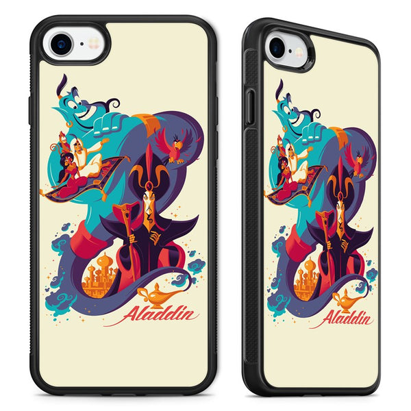newest collection e0090 b03af Aladdin Amazing Disney Movie Art Phone Case Cover for iPhone