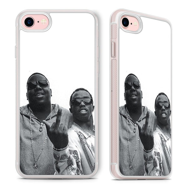 Biggie Smalls Puff Daddy Old Photo Phone Case Cover for iPhone