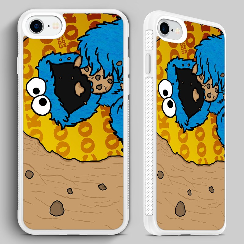 Cookie Monster Sesame Street Phone Case Cover for iPhone