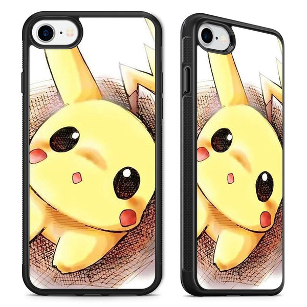 940ffd1bd1 Extremely Cute Pikachu Pokemon Phone Case Cover for iPhone – getyacase