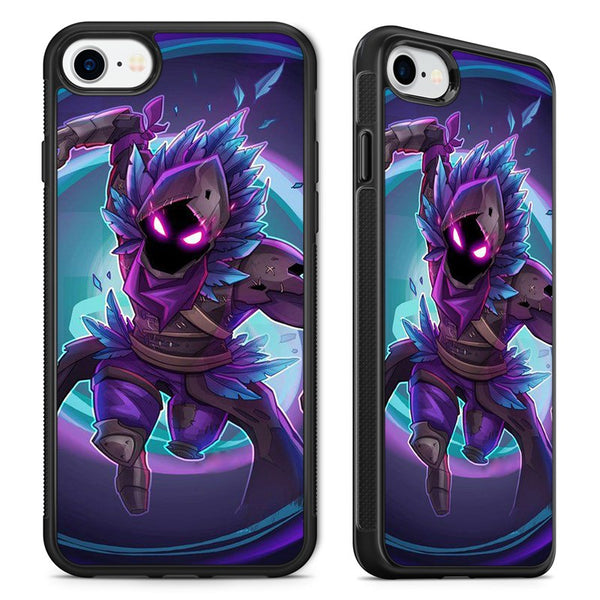 new arrival fcf06 7a0bd Fortnite Battle Royal Game The Raven Phone Case Cover for iPhone