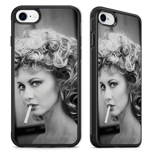 save off 56d43 a3194 Grease Movie Sandy Bad Girl Olivia Newton John Phone Case Cover for iPhone