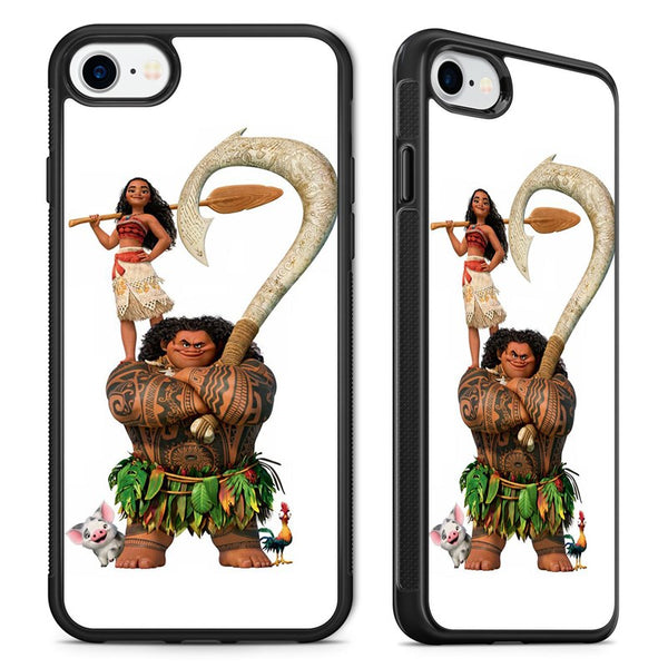Moana Disney Characters Phone Case Cover for iPhone