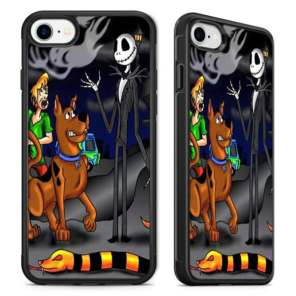 Nightmare Before Christmas Phone Case.Nightmare Before Christmas Scooby Doo Phone Case Cover For Iphone