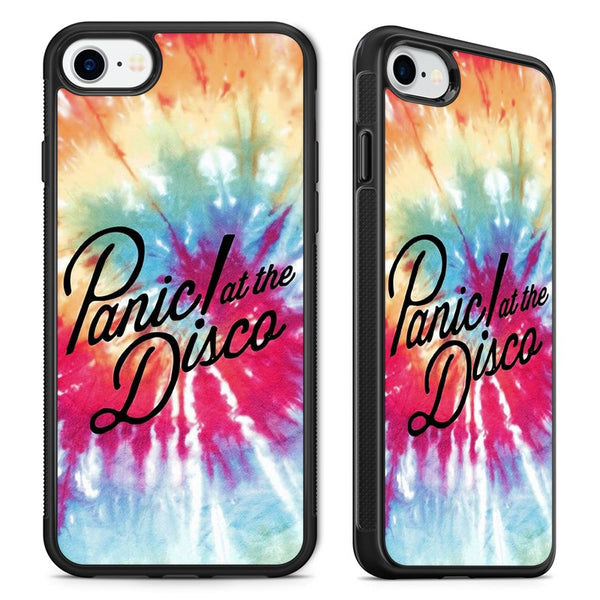 12e40c61b11 Panic At The Disco Tie Dye Brendon Urie Phone Case Cover for iPhone