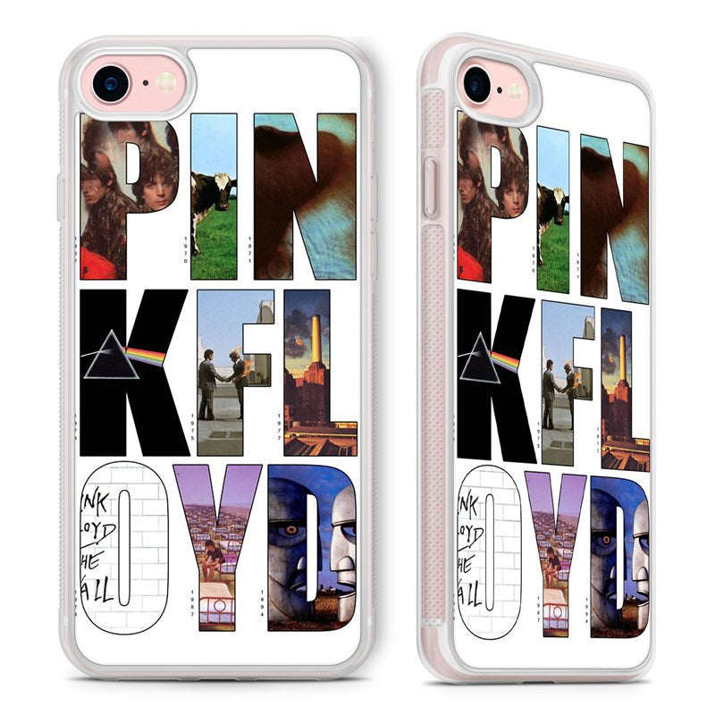 buy popular 59138 42ef0 Pink Floyd Album Art Rock Band Phone Case Cover for iPhone