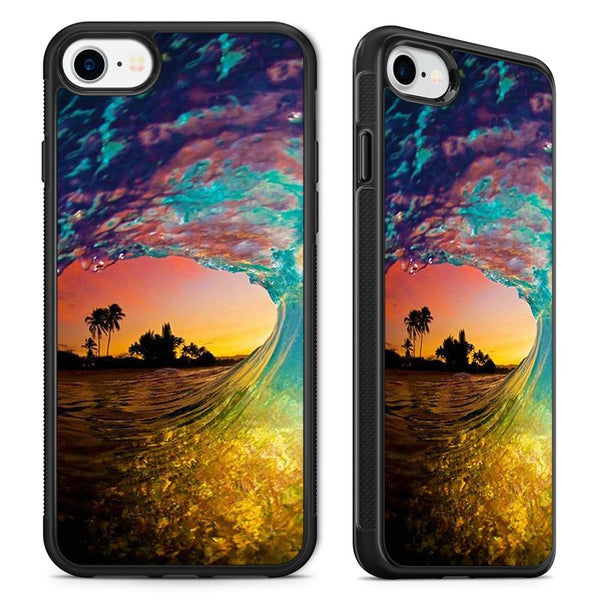 5e4a27fbb2 Rip Curl Wave Ocean Surfing Sunset Phone Case Cover for iPhone