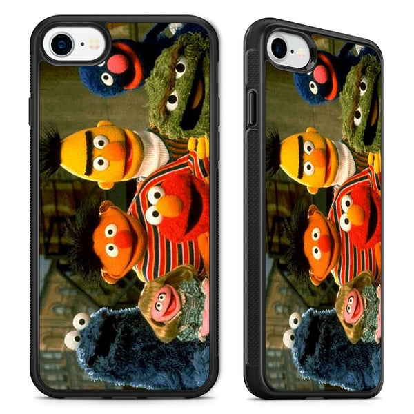 Sesame Street Muppets Elmo Cookie Monster Phone Case Cover for iPhone
