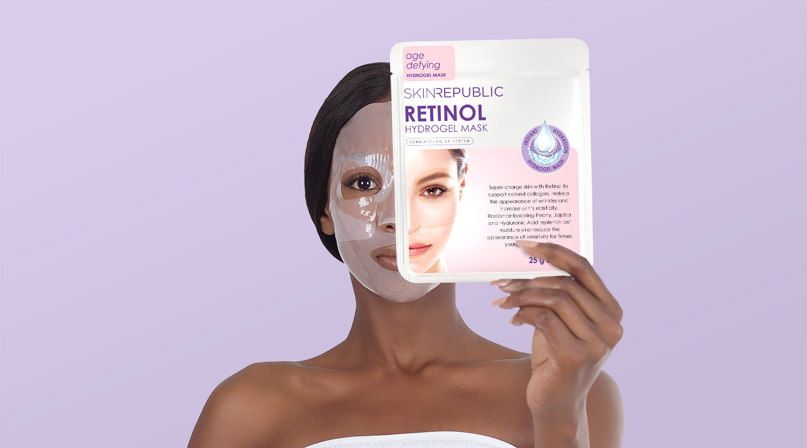 SKIN REPUBLIC RETINOL SHEET MASKS