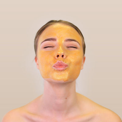 24K Gold Peel-Off Face Mask