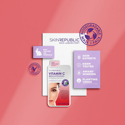 Brightening Vitamin C Face Sheet Mask