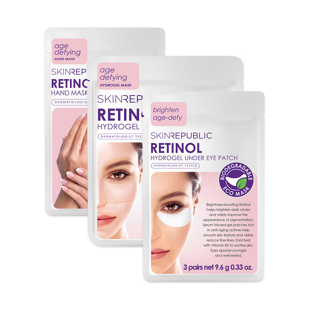 Skin Republic Age Defying Retinol Rescue Kit