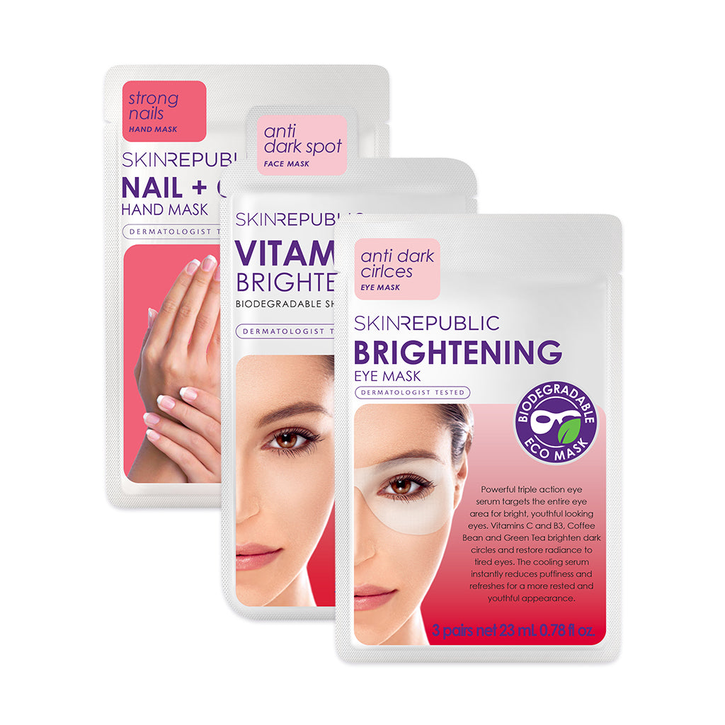 Skin Republic Brightening Boosting Vitamin C Kit