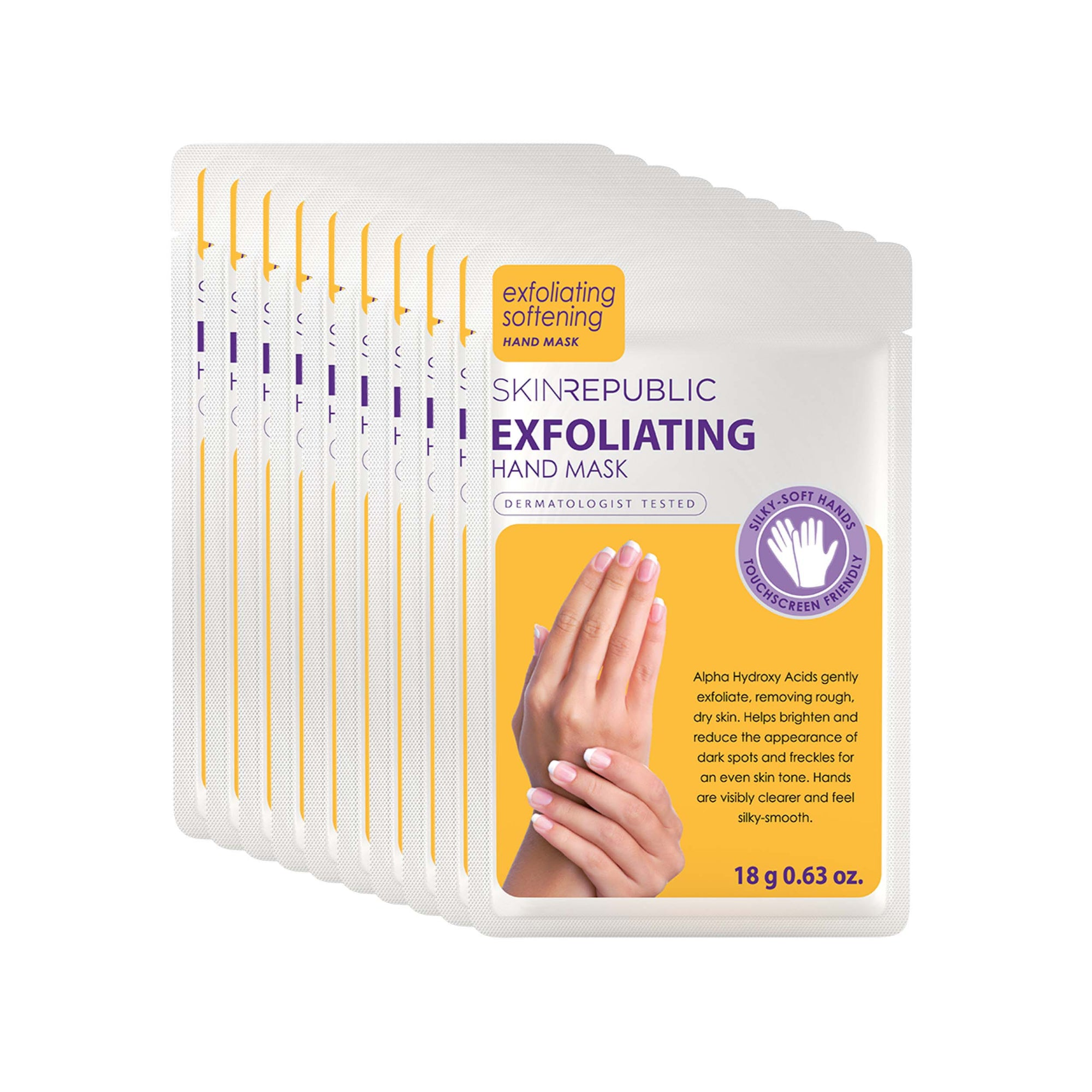 Exfoliating Hand Mask (Pack Of 10)
