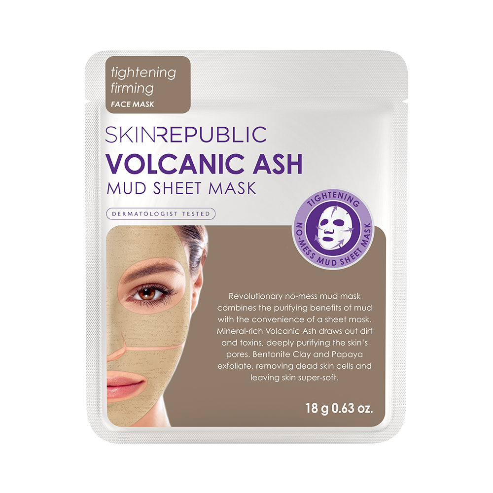 Volcanic Ash Mud Sheet Mask