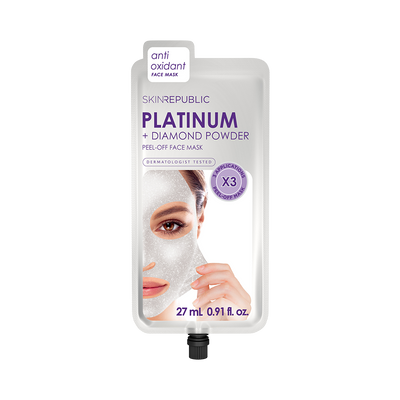 Platinum + Diamond Powder Peel-Off Face Mask