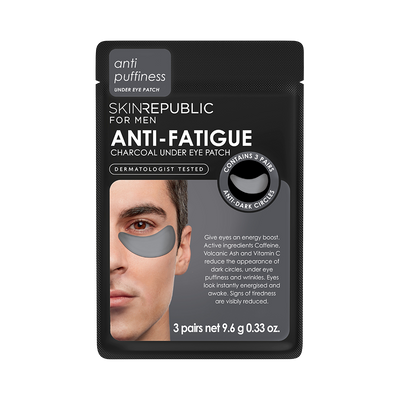 Anti-Fatigue Charcoal Under Eye Patch For Men (3 Pairs) Mask