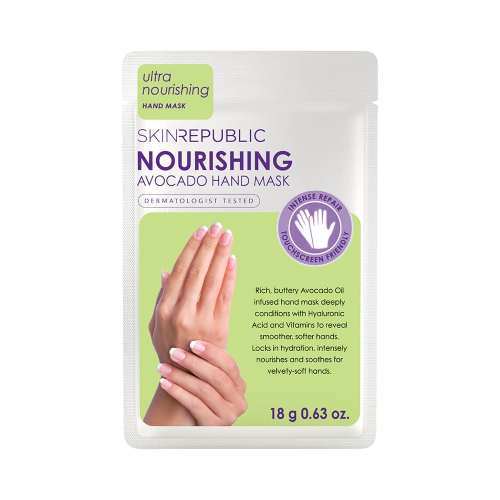 Nourishing Avocado Hand Mask