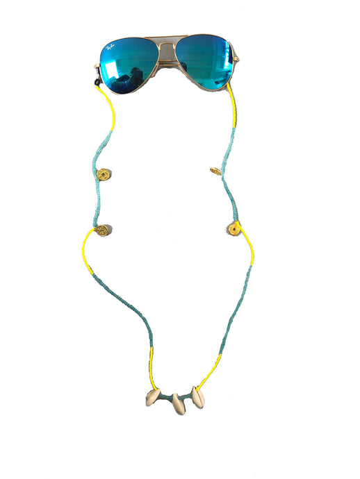 Sunnycord yellow turquoise