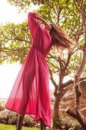 Kynthia Maxi Dress - Rose