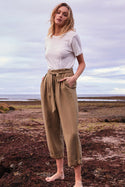 Maiya Tapered Pant - Khaki