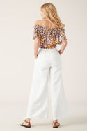 Talor Off Shoulder Top - Leopard