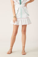 Namita Mini Skirt - White