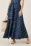 Hanini Maxi Skirt - Navy