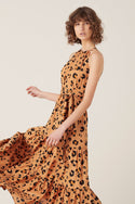 Leilani Maxi Dress - Leopard