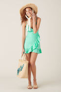 Hala Mini Dress - Aqua