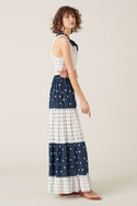 Hanini Maxi Dress - Navy
