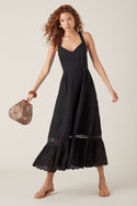 Elati Maxi Dress - Black